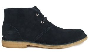 UGG Men's Leighton Boots Black Suede Leather